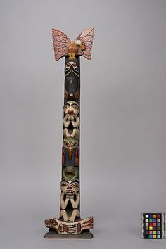 Totem Poles, Anthropology, Floral Tie, Museum, Model, Accessories, Collection, Decor, Anthropologie