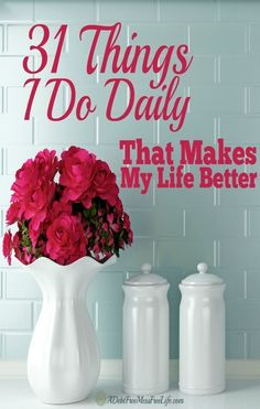 For those days when I wake up overwhelmed with my to-do-list.  When Im tired from a restless night sleep and all I want to do is go pull the covers over your head.  And just because life can be downright frustrating.  Ive found the solutions for when I