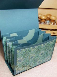 """Hermoso folder - Inspired and Unscripted: 4 x 6"""" Accordion File Purse Tutorial"""