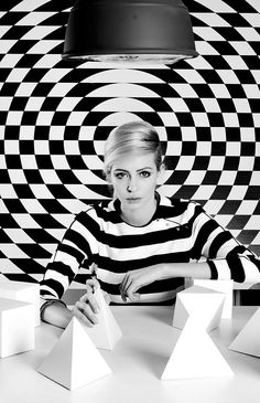 Cool black and white fashion photography by Bulgarian Petya Cholakova