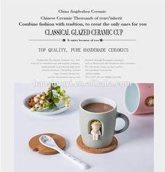 Custom porcelain glazed pink mug CC-C157, View porcelain mug, I'm Cici Product Details from Jingdezhen Haoshouyi Ceramic Co., Ltd. on Alibaba.com