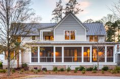 Spacious Front Porch | Screened In Porch | Gorgeous Home | Southern Style Home | Lowcountry Living | Luxury Real Estate Bluffton, South Carolina