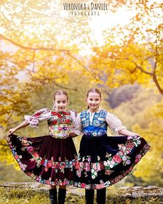 2 Slovak girls have good attitude to folklore by @veronika&daniel - photo.eu Folk Costume, Costumes, Good Attitude, Traditional, Girls, Instagram, Dresses, Women, Fashion