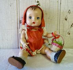 "Kitschy Vintage: Fun Finds: Madame Alexander Baby Doll -- Complete! ""Precious"" by Madame Alexander"