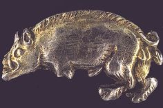 "From the BBC - ""silver livery badge in the shape of a boar, the symbol of Richard III, used by his household and followers' - late 15th century"