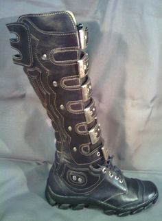 Post Apocalyptic shoes Raider by Masterbogdan on Etsy