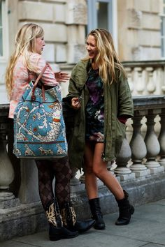 On the Street….Friends, London « The Sartorialist