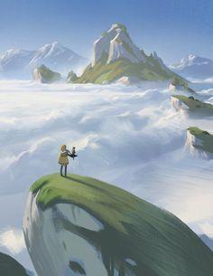 Cloud Sea by Justin Oaksford