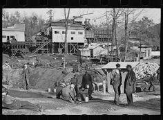 Alabama coal miner, Bankhead Mines, Walker County, Alabama.  Taken by Arthur Rothstein in February 1937