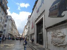 O Museu do Design e Moda fica bem pertinho do arco da rua Augusta. Lisboa  - Portugal Foto : Cida Werneck