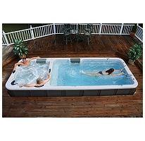 Ultimate Dual-Temperature Stereo Swim Spa | ha. dream on.