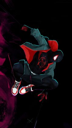 Miles Morales x Spider-Man – iWall a Wallpaper Bank Amazing Spiderman, Black Spiderman, Spiderman Noir, Art Spiderman, Spiderman Drawing, Miles Morales Spiderman, Dope Wallpapers, Iphone Wallpapers, Marvel Comics Art