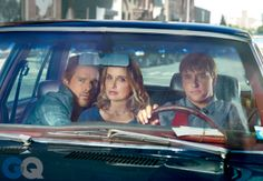 Ethan Hawke, Julie Delpy, and director Richard Linklater crafted a masterful continuation of their indie romance saga, the year's best reunion in GQ's Men of the Year 2013 issue Before Sunset, Before Midnight, Romantic Movies, Most Romantic, All Movies, I Movie, Before Trilogy, Julie Delpy, Ethan Hawke