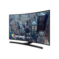 """Samsung UN55JU6700F 4K 120Hz 55"""" Curved Smart LED TV, Black (Certified Refurbished) Price"""