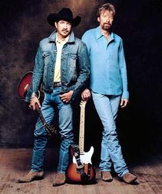 Brooks and Dunn- The sound track to my life- well their older stuff.