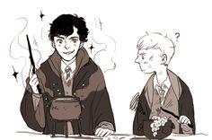 Potterlock drawings
