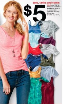 Target: Women's Mossimo T-Shirts and Tanks for $4 - Money Saving Mom®