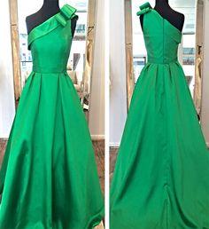One-shoulder Elegant Evening Dresses Prom Dresses Maxi Dresses, stunning prom dresses, bridesmaid dresses, cheap evening dresses, sexy homecoming dresses.