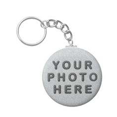 """Custom Keychains No Minimum Order required. Personalization Gifts  Make a statement with Customizable Gifts with YOUR PHOTOS and or TEXT. http://www.zazzle.com/littlelindapinda/gifts?cg=196011228045420884&rf=238147997806552929    Easy to use Templates.  Click """"Change"""" to Upload YOUR PHOTO  and type in YOUR TEXT into the TEXT BOX(es).  ALL of Little Linda Pinda Designs CLICK HERE: http://www.Zazzle.com/LittleLindaPinda*"""