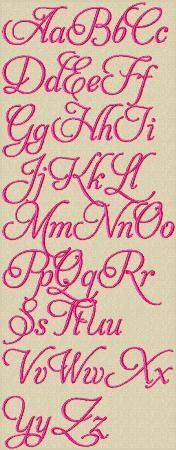 Love Lace Embroidery Font Alphabet Embroidery Design