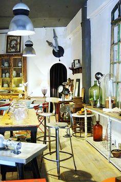 Decoración vintage madrid