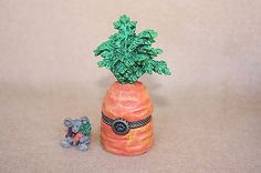 Boyds Bears Resin Carson's Carrot with Julieanne McNibble Treasure Box