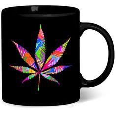 Weed Leaf Coffee Mug