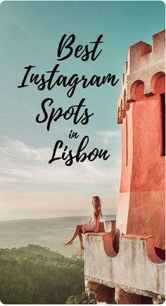 Best Instagram Spots in Lisbon, Portugal