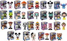 """Hard-to-find"" POP Vinyl Disney"