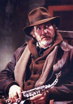 An aged Indy from the Young Indiana Jones chronicles.