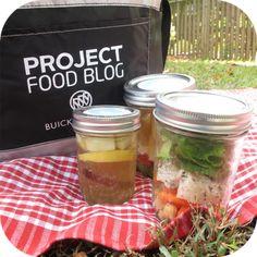 Meals/snacks in a jar