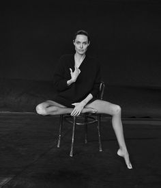 Angelina Jolie Poses for Peter Lindbergh in WSJ. Magazine Angelina Jolie Pose for WSJ Magazine Novem