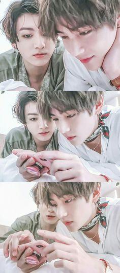 berisikan foto foto couple favorit versi me boyslove version oke # Random # amreading # books # wattpad Kookie Bts, Bts Taehyung, Bts Bangtan Boy, Bangtan Bomb, Taekook, V Bts Cute, I Love Bts, Namjin, Bts Memes