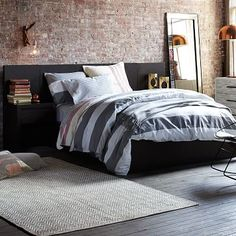 West Elm offers modern furniture and home decor featuring inspiring designs and colors. Create a stylish space with home accessories from West Elm. Home Bedroom, Bedroom Furniture, Bedroom Decor, Bedrooms, Bedroom Ideas, Master Bedroom, Modern Furniture, Blush Bedroom, Modern Beds