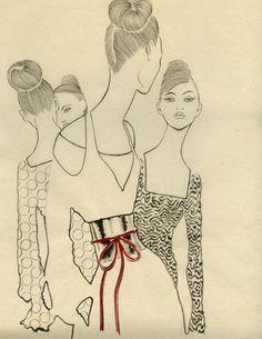 AMO LA ILUSTRACIÓN /// ilustración inspiración: Margot Macé