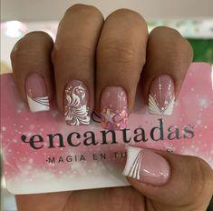 Manicure Nail Designs, Manicure And Pedicure, Pretty Nail Designs, Nail Art Designs, Super Nails, Pretty Nails, Hair And Nails, Acrylic Nails, Nail Designs