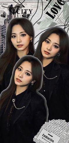 Kpop Girl Groups, Korean Girl Groups, Kpop Girls, Nayeon, Extended Play, Kpop Wallpapers, Tzuyu Wallpaper, Kpop Hair, Tumbrl Girls