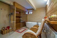 Soukromá rodinná sauna v Brně - Sauna. Corner Bathtub, Bathroom, Washroom, Full Bath, Bath, Bathrooms, Corner Tub