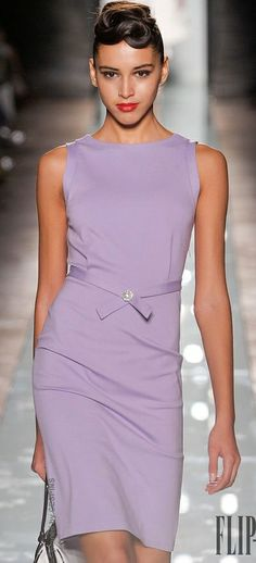 Roccobarocco Spring-summer 2014 - Ready-to-Wear Purple Fashion, Look Fashion, Runway Fashion, High Fashion, Womens Fashion, Net Fashion, Italy Fashion, Vestido Jacky, Pretty Dresses