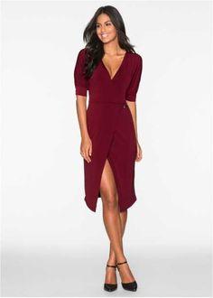 Платье, BODYFLIRT, винный