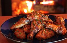 These Yuzu PAO Hot Wings will kick your Buffalo Wings' butt! We've been on a quest for the best hot wings recipe in the world for the past several years. If this isn't it, it̵… Chicken Wings Spicy, Chicken Wing Recipes, Spicy Wings, Bbq Wings, Chicken Meals, Tamarindo, Chipotle, Fodmap Recipes, Buzzfeed Food