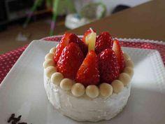 1歳の誕生日に♪離乳食ケーキの画像