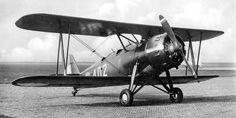 Koolhoven FK51 - fighter bi-plane used in WW2