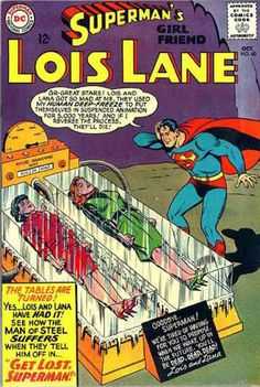 » 'Superman's Girlfriend Lois Lane' Comic Covers no 60
