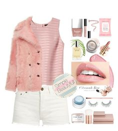 """Simple Beautyfull ♡"" by dns328 on Polyvore featuring Banana Republic, Yves Saint Laurent, Rochas, Butter London, Accessorize, Bobbi Brown Cosmetics, Herbivore, Unicorn Lashes, rms beauty and Lancôme"
