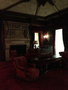 Vanderbilt Mansion, Hyde Park, NY. Fredrick Vanderbilt's Bedroom