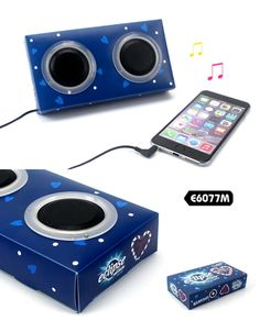 PP Speaker  Description:              *  Speaker: 1W/8Ω          *  Speaker for MP3 & MP4, IPOD, cellphone              & PC etc          * Use power directly from music players          *  Unit Size:19*10*3.5CM          *  Material: PP          * Welcome OEM design, good for promotion and gifts.  www.ideagroupigm.com