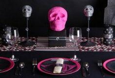 Decoracion mesa halloween