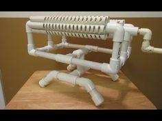 PVC BASE for Rubber Band Machine Gun - YouTube