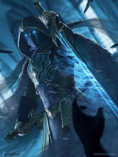 images for anime illustration art Fantasy Male, Fantasy Armor, High Fantasy, Dark Fantasy Art, Medieval Fantasy, Fantasy World, Fantasy Character Design, Character Inspiration, Character Art